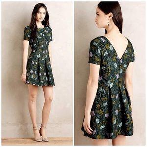 {Cynthia Rowley} Lyonesse Jacquard Dress 00P